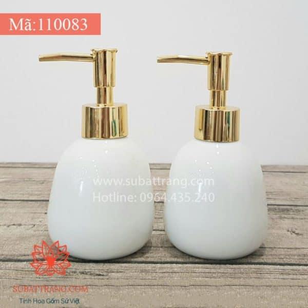 Bình Sữa Tắm Dáng Trứng - 110083